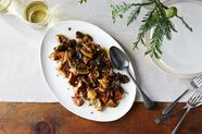 Mushrooms with Caramelized Shallots and Fresh Thyme