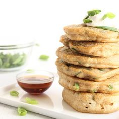 Savory Green Onion Pancakes