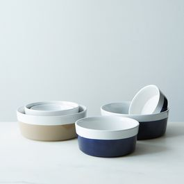 Dipped Ceramic Pet Bowl