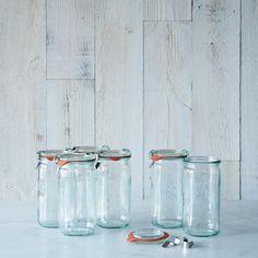 Weck Asparagus Jar 8 Ounce (Set of 6)