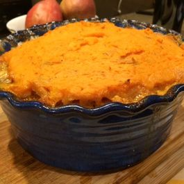 (Not) Shepherd's Pie: Pork and Sweet Potato Version