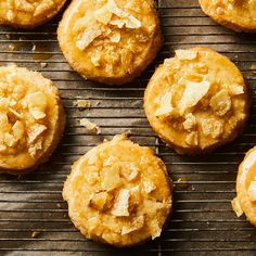 Honey-Butter Chip Shortbread Cookies