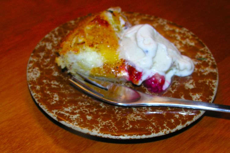Rustic Yellow Sugar Plum Cake with Almonds and Brandy (gluten free)
