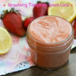 Strawberry Tangerine Lemon Curd