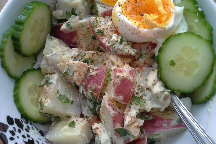 Potato Salad with Vegan Mayo