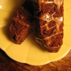 Chocolate Chai Biscotti
