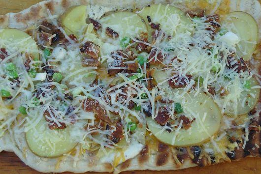 Grilled Potato Flatbread