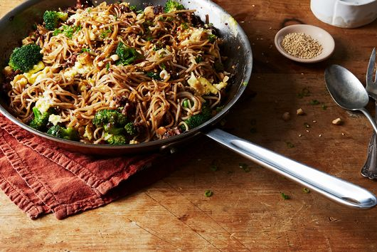 Stir-Fried Rice Noodles with Minced Pork and Black Bean