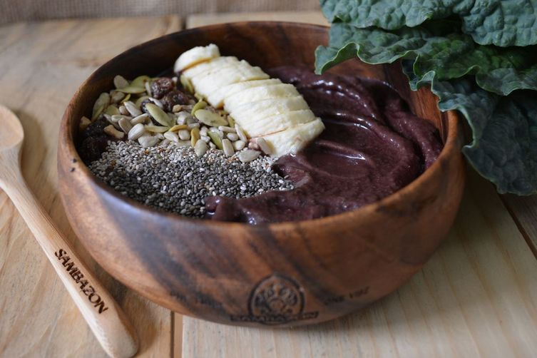 Green Smoothie Acai Bowl