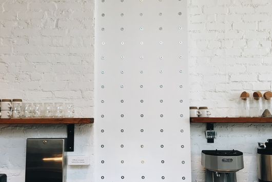 A Fast, Cheap Way to Make a Plain Wall Look Thoughtful