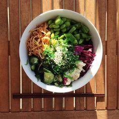 Kale and Quinoa Bibimbap Bowl (Vegan)