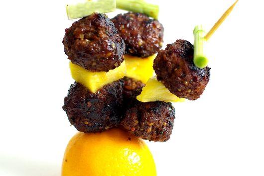 Miso Meatballs with Hemp Hearts Recipe