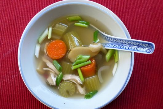 Soup remedy for a cold