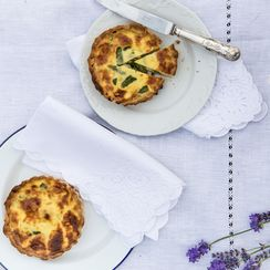 Asparagus and Pecorino Tartlets