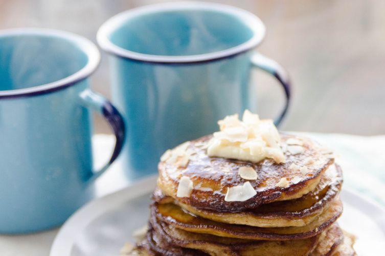 Triple Coconut Pancakes