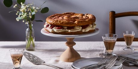 Spring's best dessert, featuring fresh strawberries and lemon.