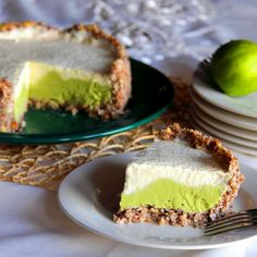 Lime, Avocado and Yoghurt Cake