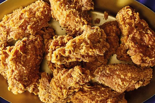 Snoop Dogg's Potato Chip Fried Chicken Wings