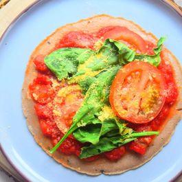 Buckwheat Tortilla Pizza