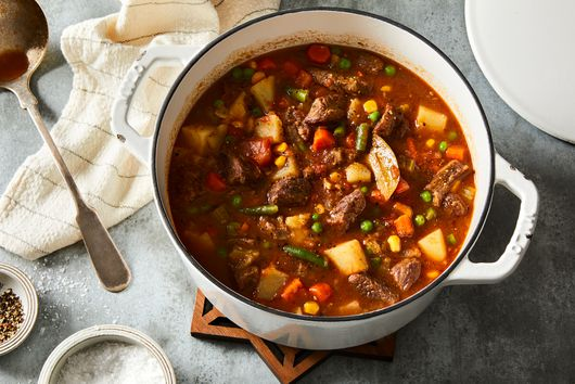 Vegetable Beef Soup Like Great-Grandma Vera Mae's