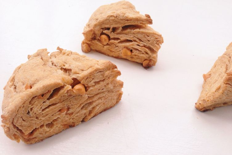Sweet Potato Butterscotch Scones