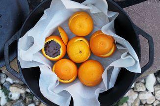 Chocolate Orange Campfire Cakes Recipe On Food52