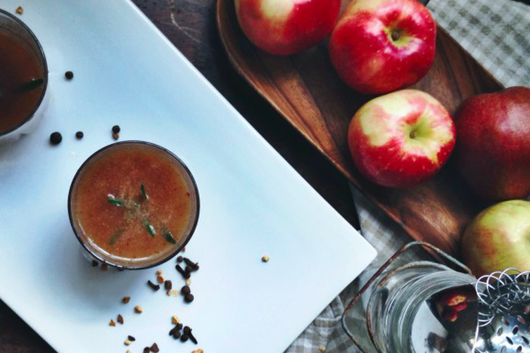 Apple Whiskey Cider | Slow Cooked