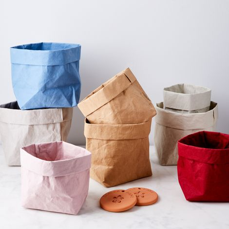 Bread Bag & Terra-cotta Bread Warmer
