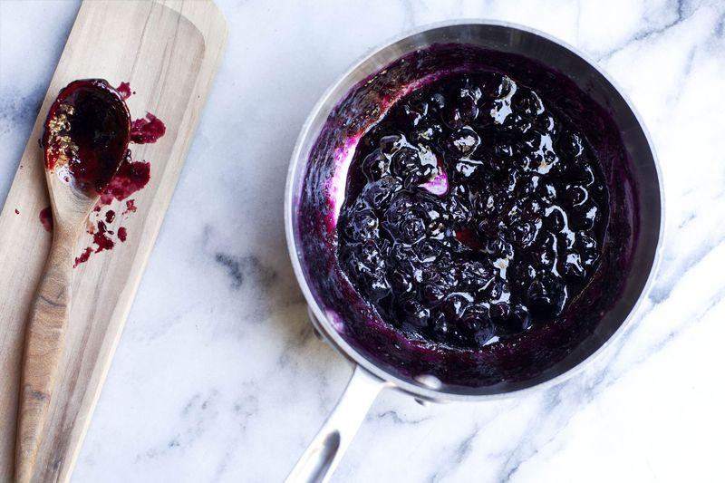 Quick Blueberry Jam