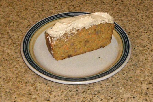 Carrot Cake with Cumin-Cinnamon Frosting