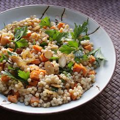 Pickled Sweet Potato Couscous Salad