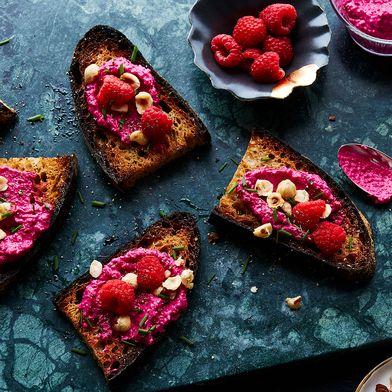 Raspberry and Beet Chèvre