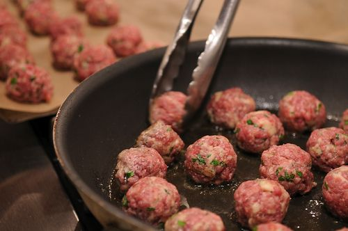Meatballs Emilia-Romagna with Pasta Sheets Recipe on Food52