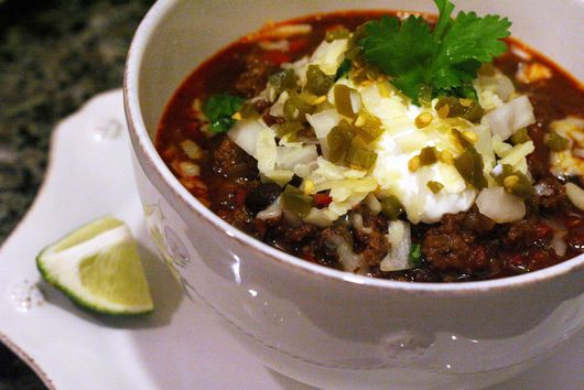 Spicy Beer Braised Beef and Buffalo Chili