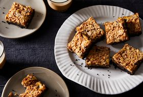 The Black Bottom Banana Bars We Can't Stop Dreaming About