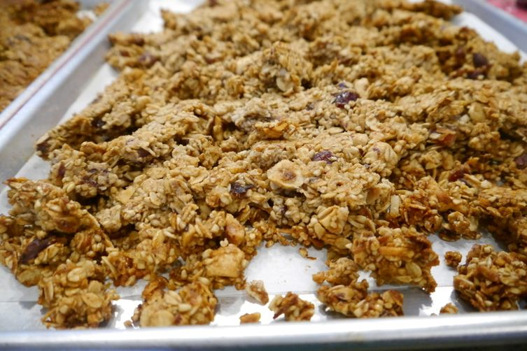 Golden Syrup Granola with Celtic Sea Salt