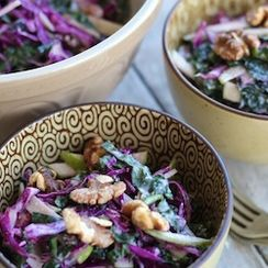 Kale & Purple Cabbage 'Slaw