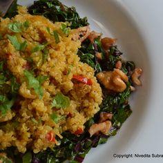 Quinoa Pilaf with Curry Powder
