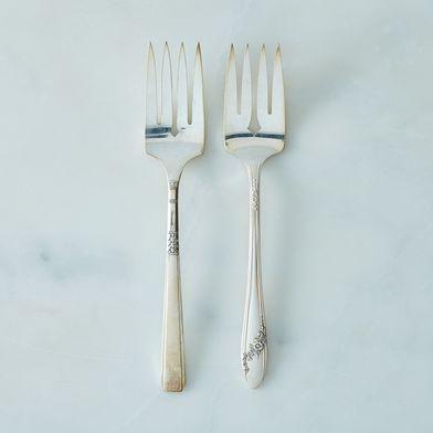Vintage Serving Forks (Set of 2)