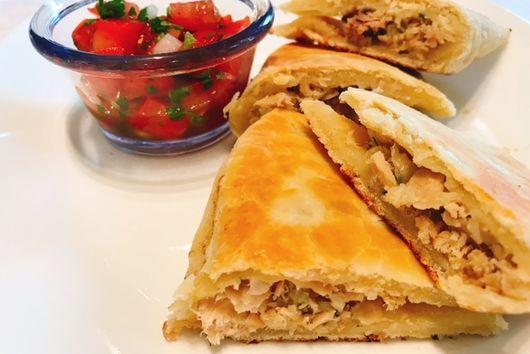 Tuna Empanadas & Salsa Fresco