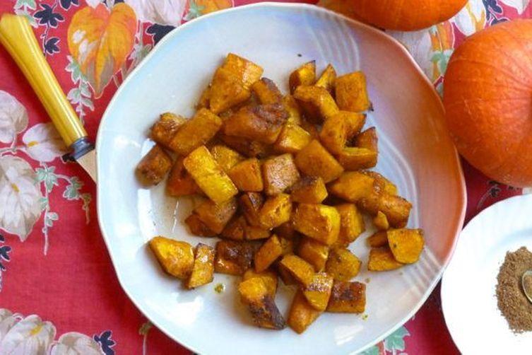Maple-glazed Spiced Winter Squash
