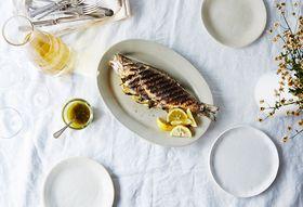 A4a0ddda cacb 431b 9099 05431dad0aa9  2015 0707 grilled whole bronzino with greek fish sauce bobbi lin 4545