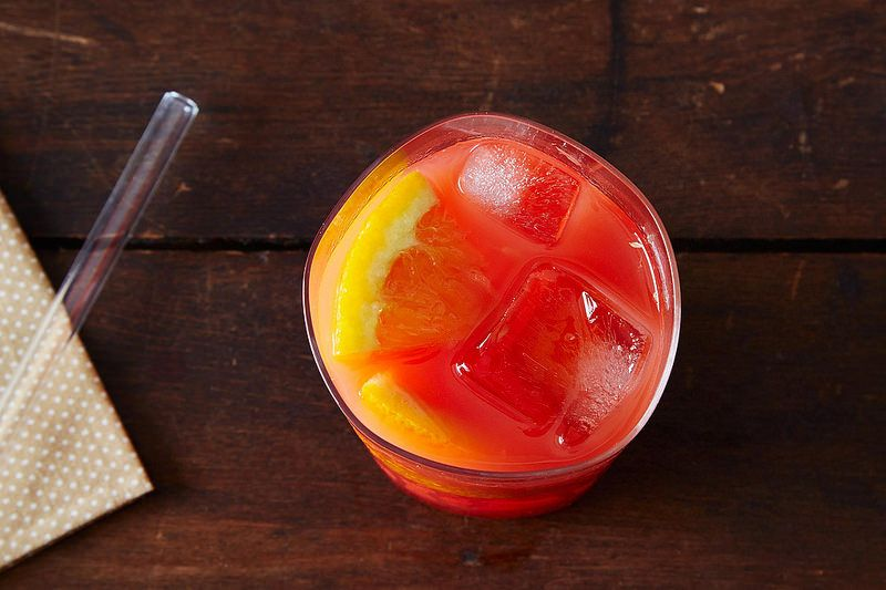 Campari and Orange Cocktail