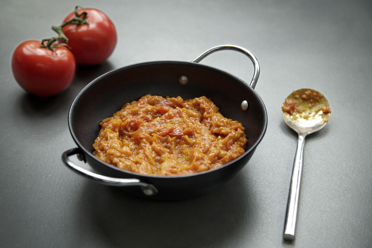 Simple Indian Tomato Curry Sauce Recipe