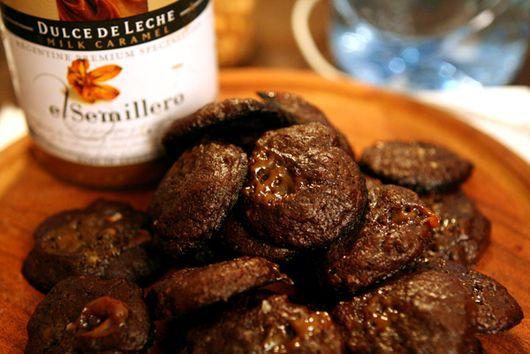 Salted Chocolate Dulce de Leche Cookie