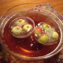 Cranberry Apple Sparkling Punch