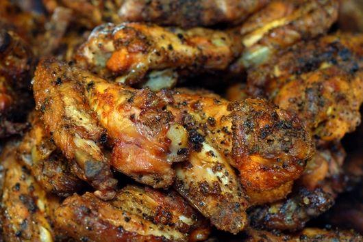 Lemon Pepper Hot Wings