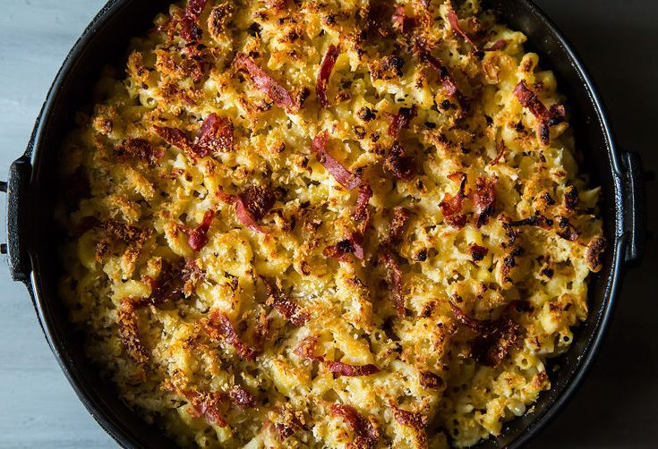 Dinner Tonight: Crab Mac + Radicchio Salad