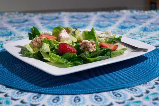 Strawberry Lime Cheesecake Salad