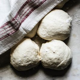 pizza dough by Mary Little